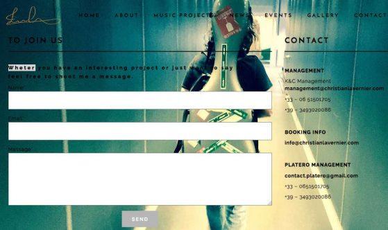 Contact Management Christian Lavernier