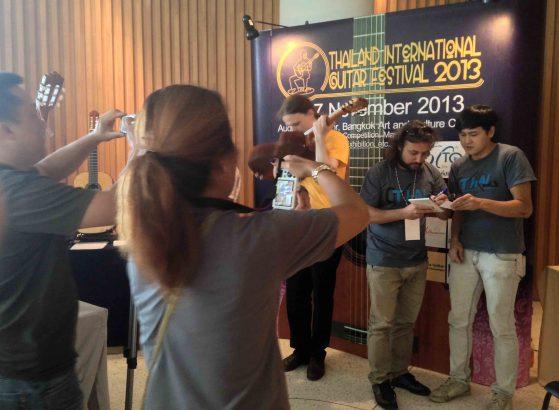 Lavernier Thailand concert