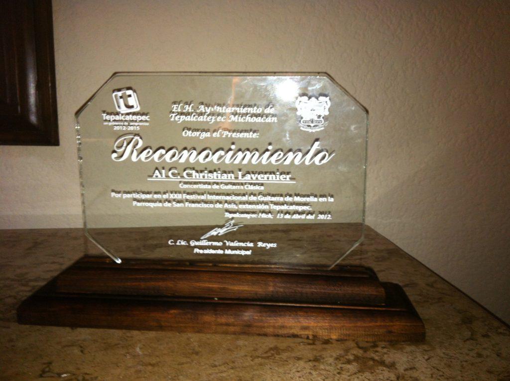 Lavernier Premio Mexico
