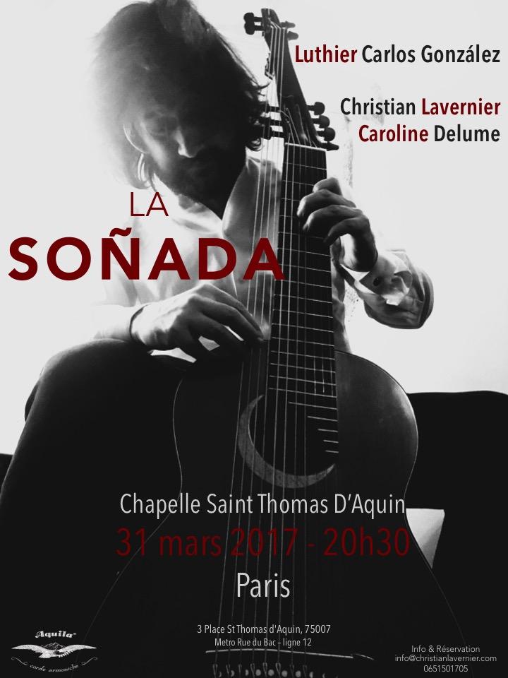 Christian Lavernier La Soñada Paris concert 2017