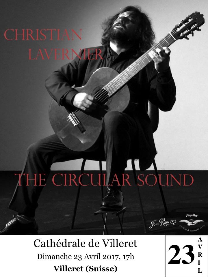 Christian Lavernier Concert Villaret Swiss