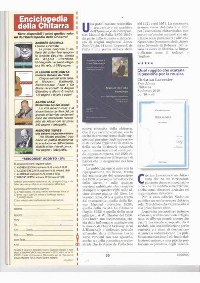 recensione 6 corde Lavernier