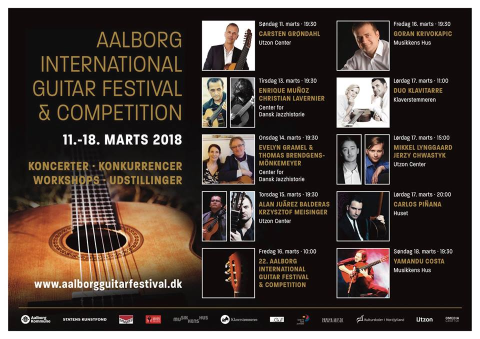 Christian Lavernier Aalborg International Guitar Festival 2018