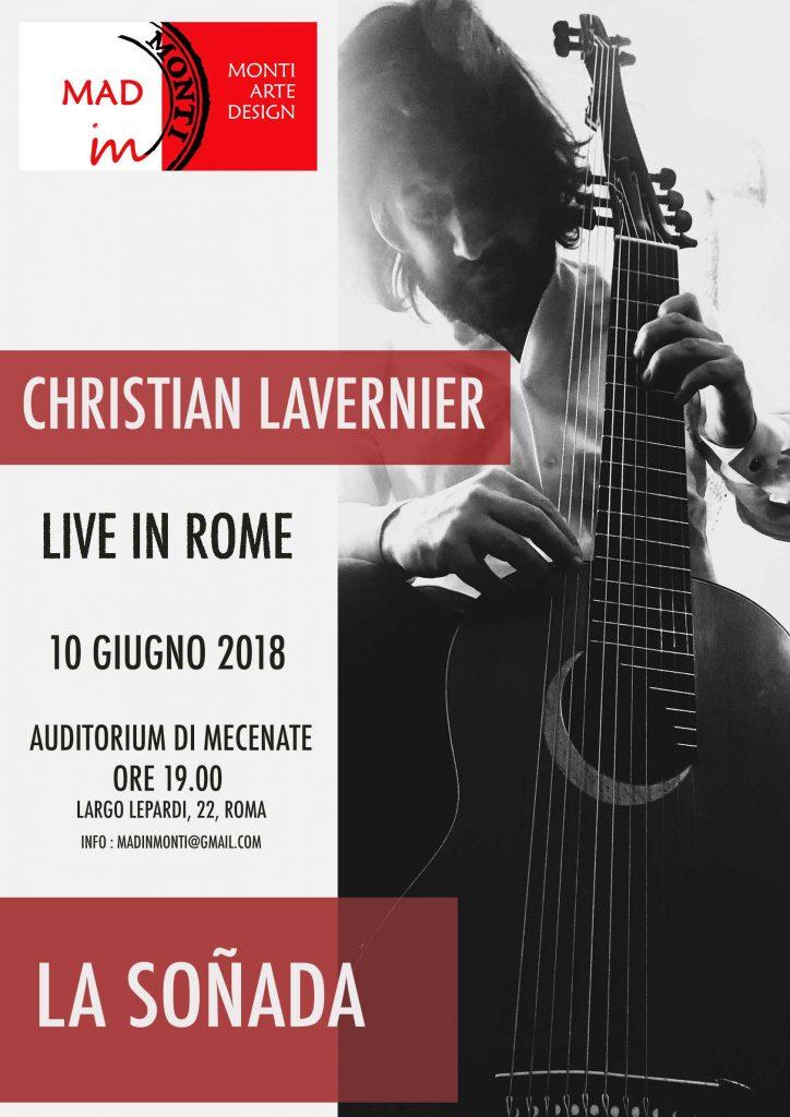Locandina Roma christian lavernieer auditorium di Mecenate