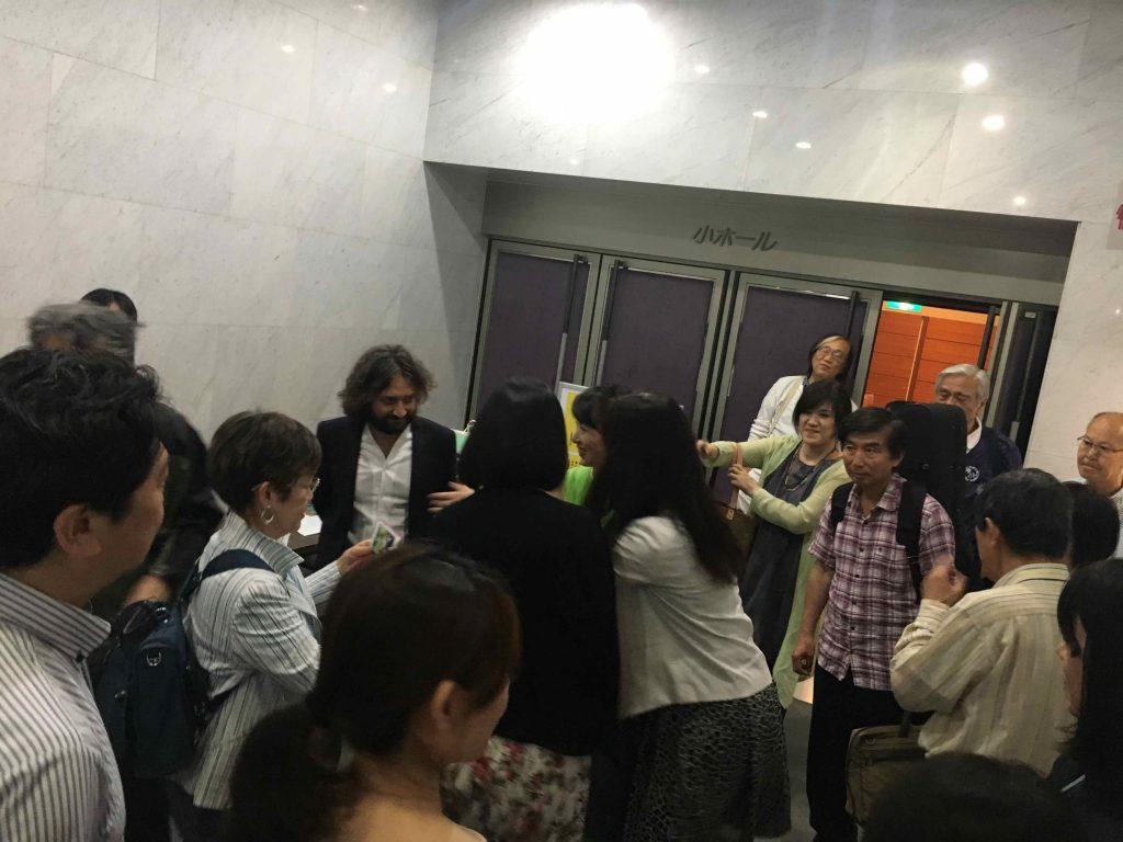 Lavernier live in Tokyo