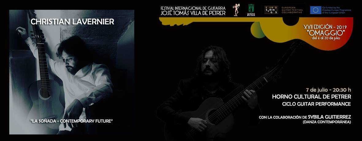 Christian Lavernier Festival Josè Tomas Petrer 2019
